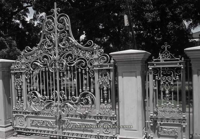 brama pałacowa – barokowa bp48